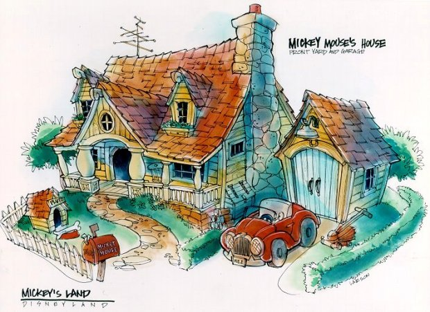 mickey mouse house toontown disneyland don carson