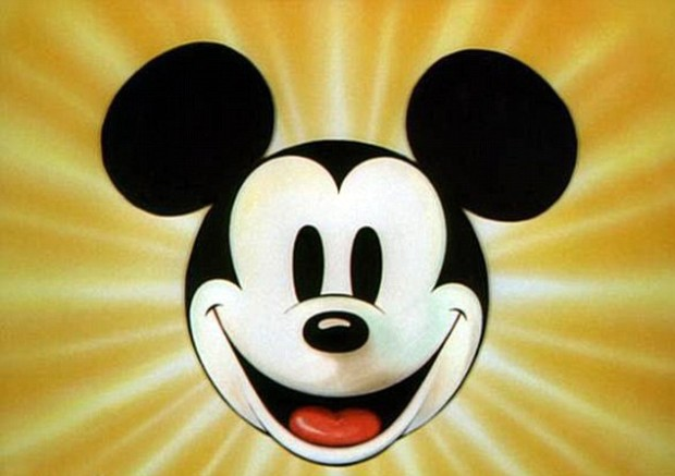 mickey mouse smiling