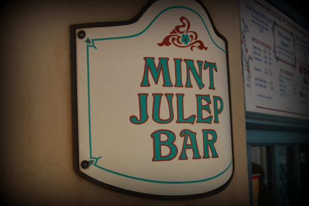 mint julep bar at disneyland