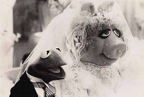 muppets wedding kermit and miss piggy