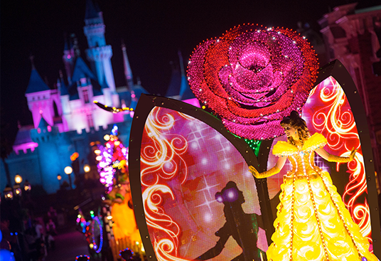 paint the night parade