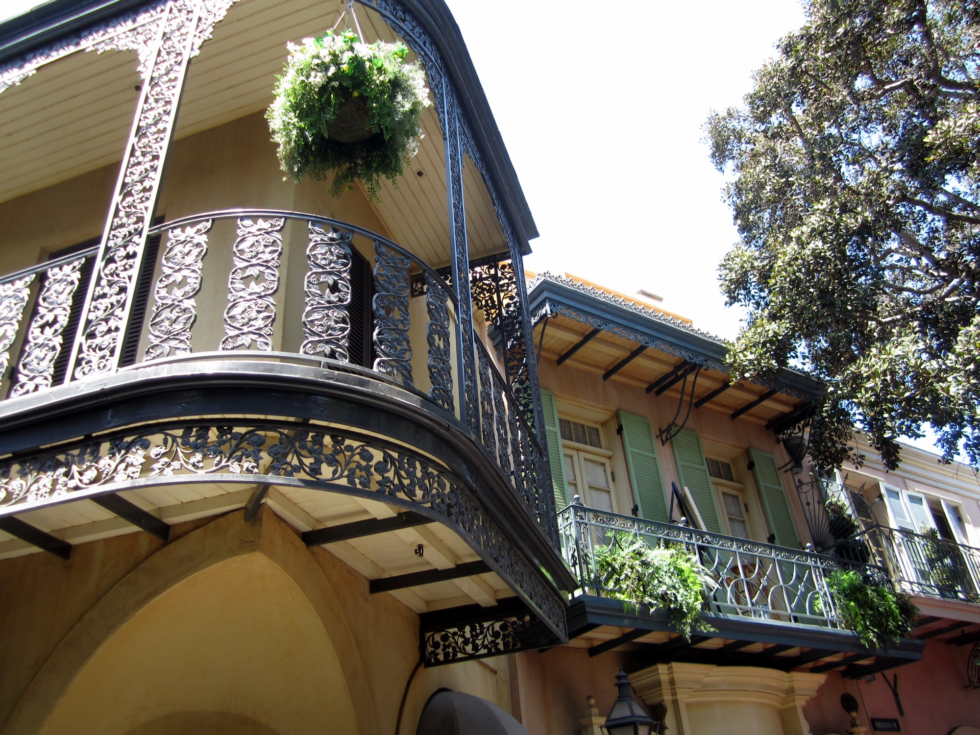 New Orleans Square Disneyland Club 33 on in New Orleans Square