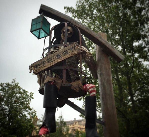 pirate skeleton shanghai disneyland
