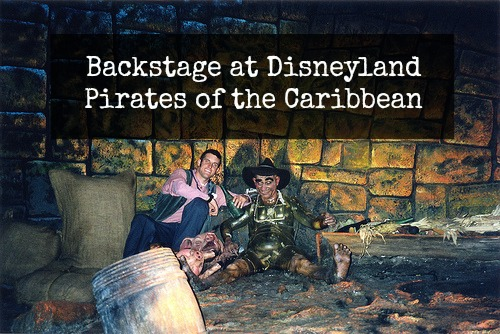 pirates of the carribean backstage