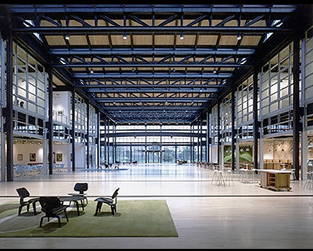 Pixar Animation Studios Emeryville California Headquarters main lobby