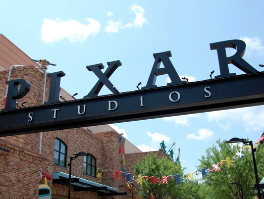 pixar place disney hollywood studios