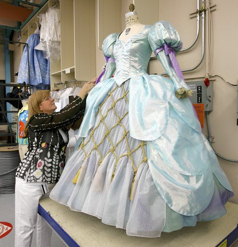 Ariel's dress from 'The Little Mermaid' show