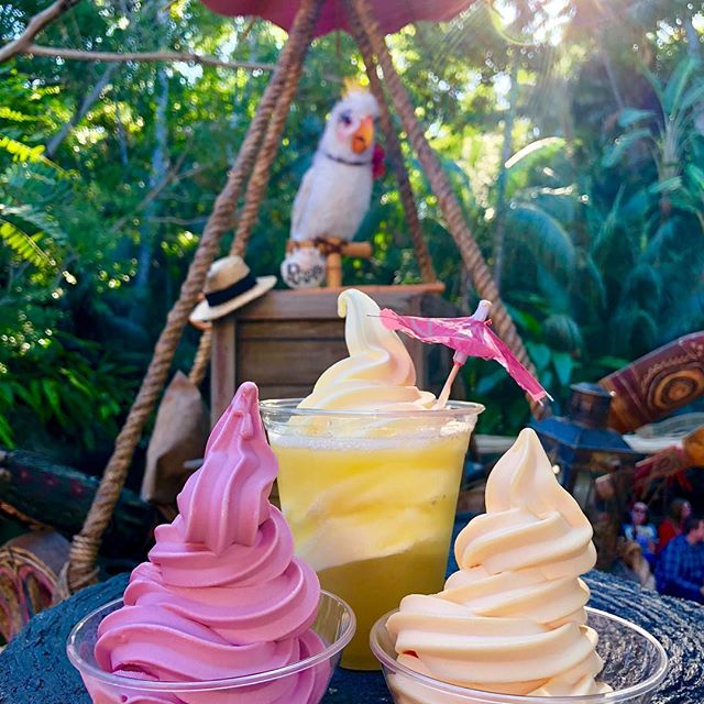 Raspberry Orange Dole Whip