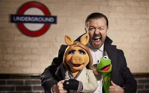 ricky gervais muppets most wanted