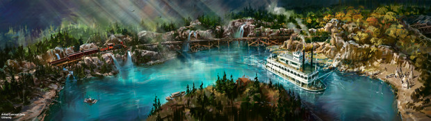 rivers of america disneyland star wars land