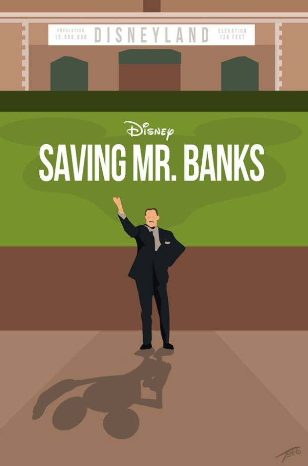 saving-mr-banks-disneyland-minimalist-poster