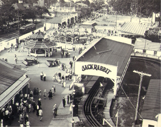The Seabreeze Amusement Park located in Rochester, New York. The first attraction opened here in 1903.