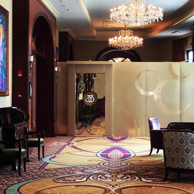 shanghai disneyland club 33 lounge