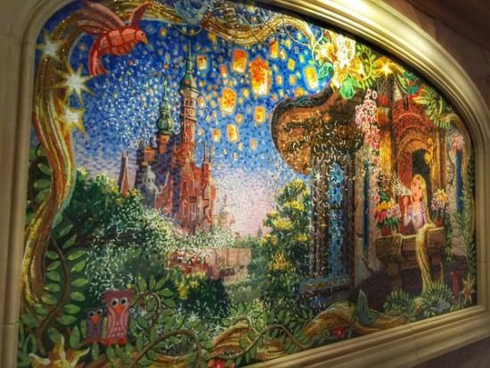 shanghai disneyland mosaic