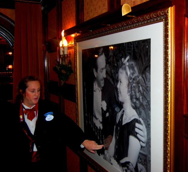 shirley temple and walt disney carthay circle restaurant