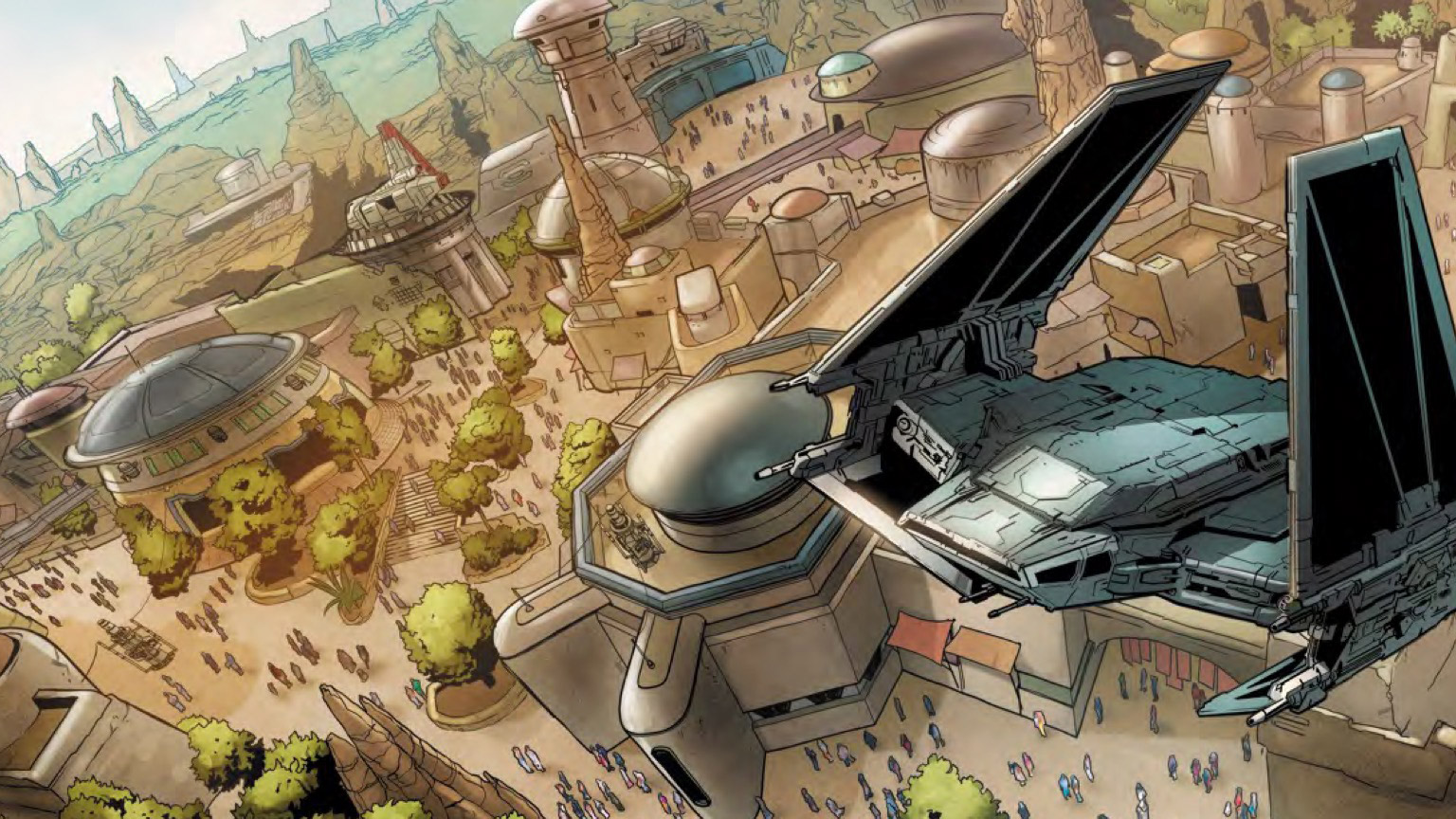Star Wars: Galaxy's Edge Comic cover art