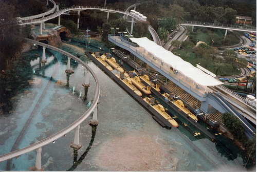 submarines from the top of the matterhorn