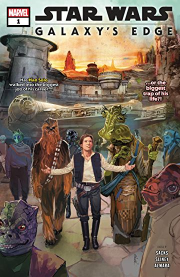 Star Wars Galaxy's Edge comic