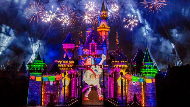 Pixar Fest fireworks