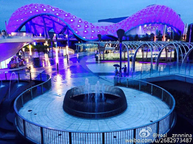 tomorrowland shanghai disneyland