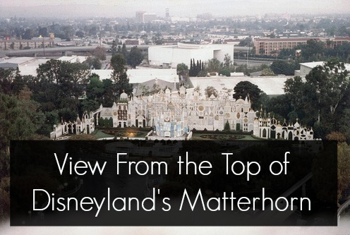 top of disneyland matterhorn