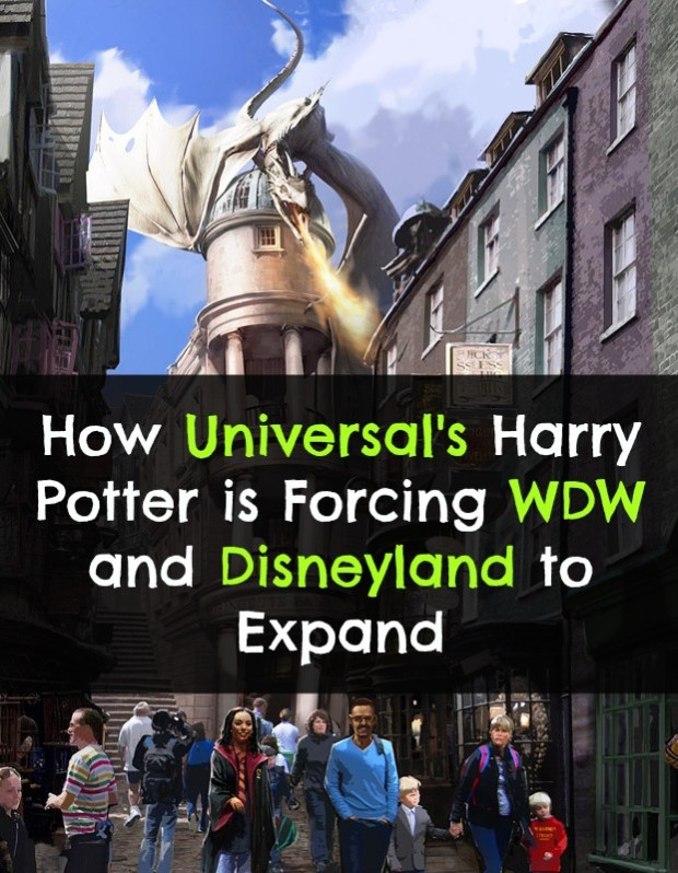 universal forces disneyland and walt disney world to expand