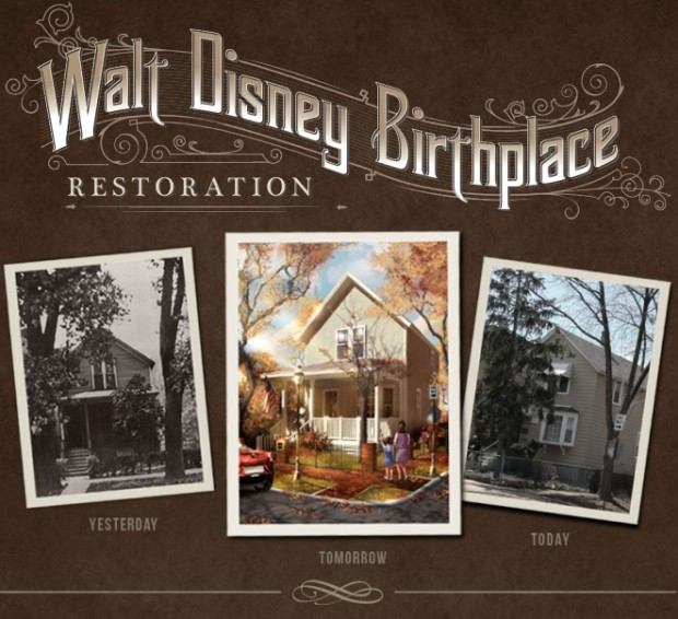 walt disney born here