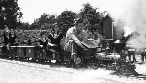 walt disney backyard train