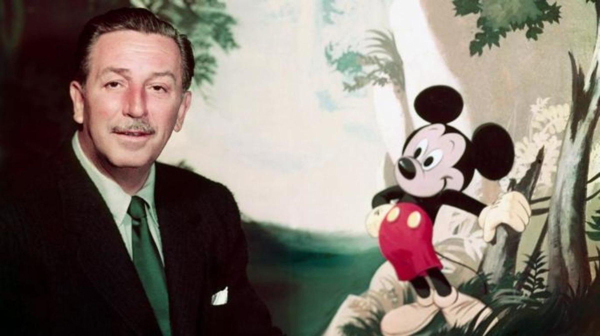 Walt Disney and Mickey Mouse