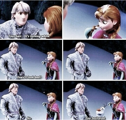 you hesistated frozen olaf