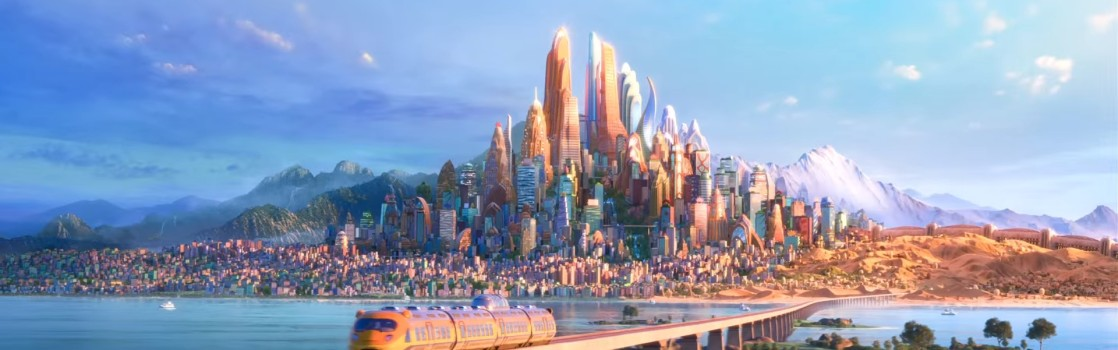 zootopia full city landscape